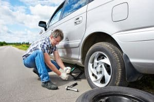 Is It Safe to Change a Tyre on an Incline