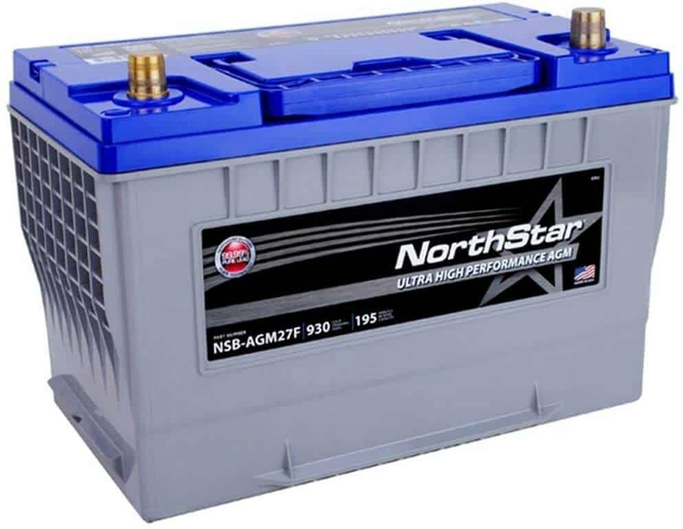 NORTHSTAR NSB-AGM35 – Pure Lead Automotive Group 35 Battery