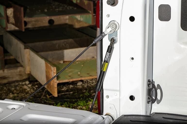 Add a tailgate drop assist to your truck