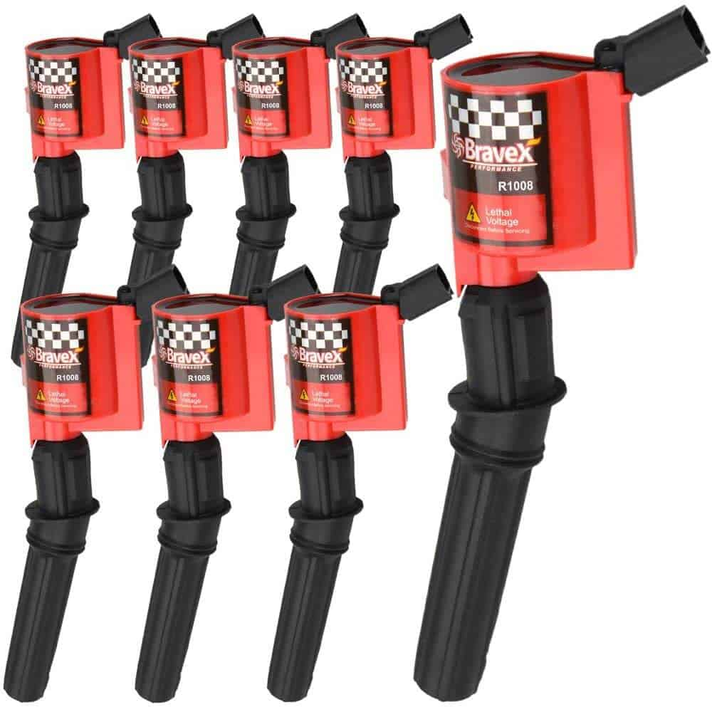 High-Performance Ignition Coil 8 Pack