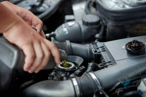 How can you refill your car motor oil