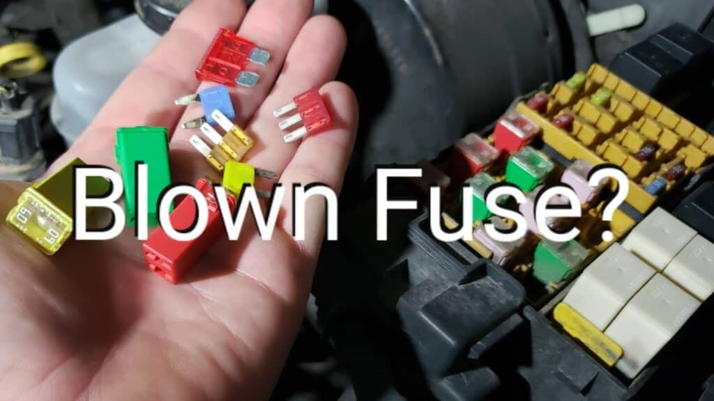 40 amp ignition fuse keeps blowing