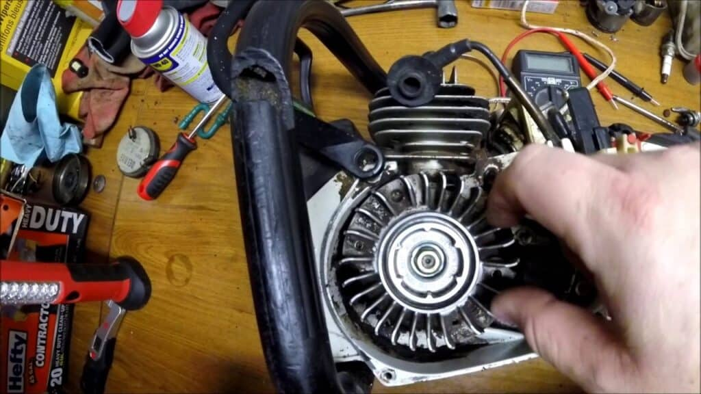 Tools to use in removing a flywheel